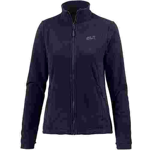 Jack Wolfskin Kiruna Fleecejacke Damen midnight blue