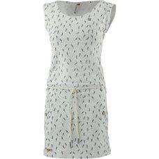 Ragwear TAGALI Jerseykleid Damen white melange