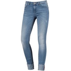 Only Skinny Fit Jeans Damen light-blue-denim