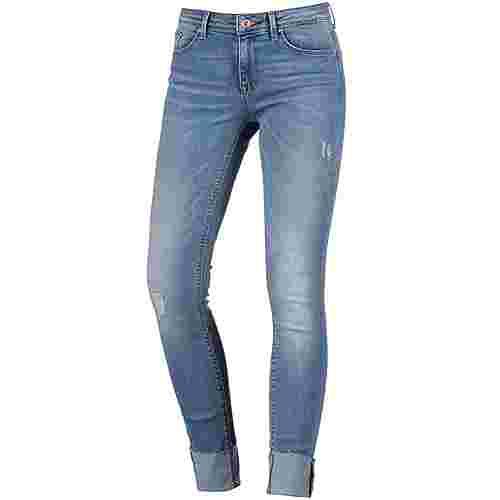 Only Skinny Fit Jeans Damen light-blue-denim