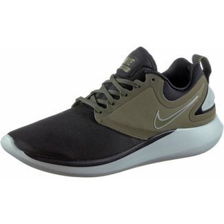 Nike LUNARSOLO Laufschuhe Herren black-medium-olive-light-pumice-volt