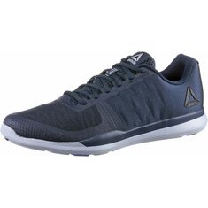 Reebok Sprint Fitnessschuhe Herren collegiate-navy-cloud-grey-acid-blue