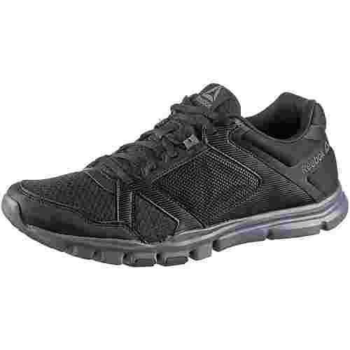 Reebok Yourflex Train 10 Fitnessschuhe Herren black-alloy