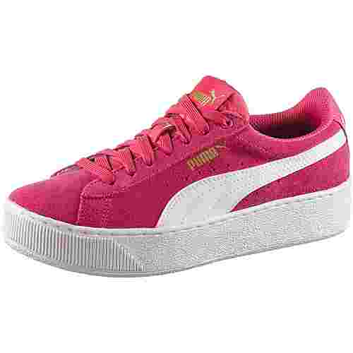 PUMA Vikky Platform Sneaker Kinder paradise pink-puma white