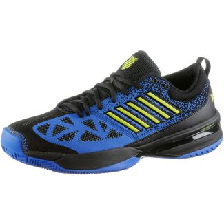 K-Swiss Knitshot Tennisschuhe Herren black-strong blue-neon citron