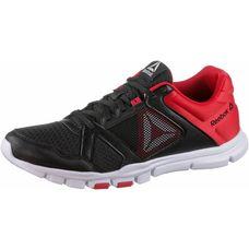 Reebok Yourflex Train 10 Fitnessschuhe Herren black-primal-red-white