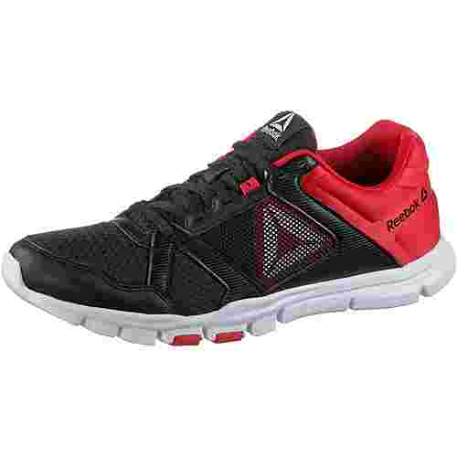 Reebok Yourflex Train 10 Fitnessschuhe Herren black-primal-red-white