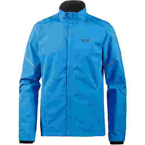 GORE® WEAR R3 Partial GORE® WINDSTOPPER® Laufjacke Herren dynamic-cyan