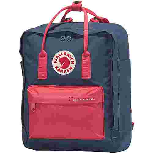 FJÄLLRÄVEN Save The Arctic Fox Känken Daypack royal blue-peach pink