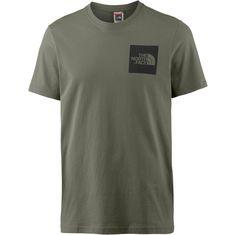 The North Face Fine T-Shirt Herren deep lichen green