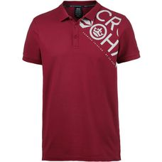 Crosshatch Tennyson Poloshirt Herren biking red