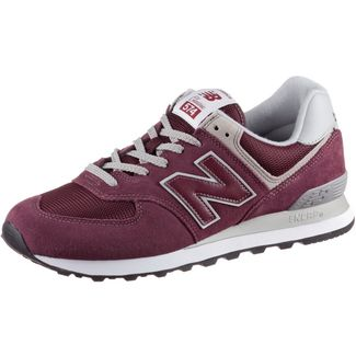 NEW BALANCE ML574 Sneaker Herren burgundy