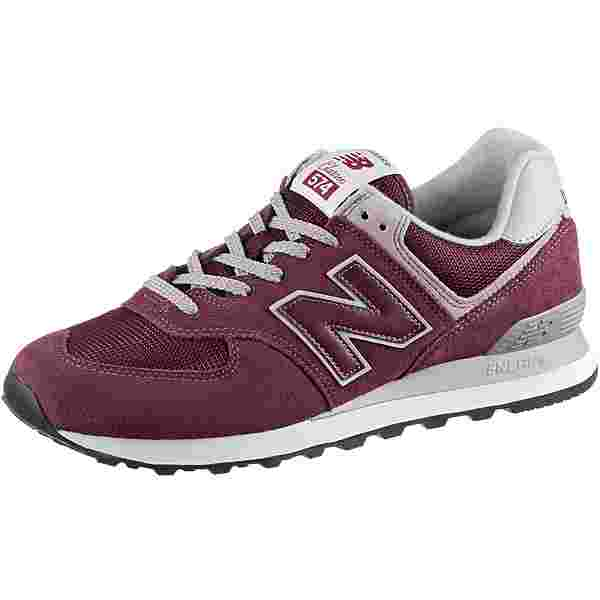 NEW BALANCE ML574 Sneaker Herren burgundy