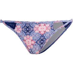 O'NEILL Crochette Bikini Hose Damen white aop-blue