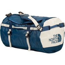 The North Face Base Camp Duffel Reisetasche blue wing teal-vintage white