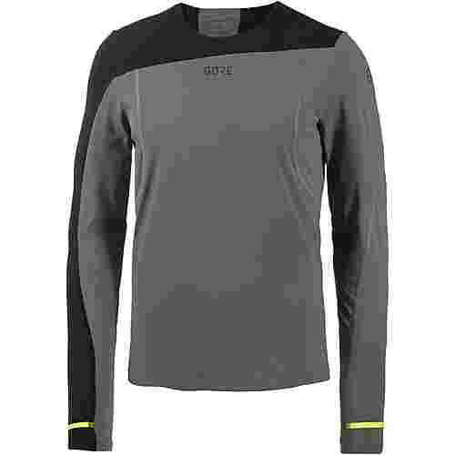 GORE® WEAR R7 Laufshirt Herren carstor-grey-black