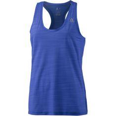 Reebok Workout Ready Activchill Funktionstank Damen acid blue