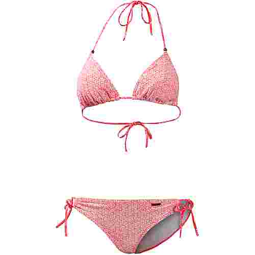 Protest Mystical Bikini Set Damen new coral