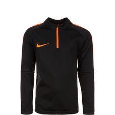 Nike Academy Drill Langarmshirt Kinder schwarz / orange