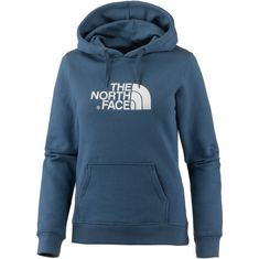 The North Face Drew Peak Hoodie Damen blue wing teal