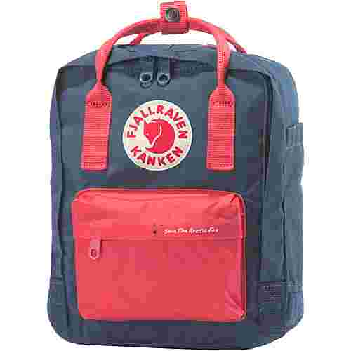 FJÄLLRÄVEN Rucksack Save The Arctic Fox Kånken Mini Daypack royal blue-peach pink