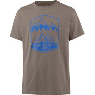 Alprausch Velowäg T-Shirt Herren walnut