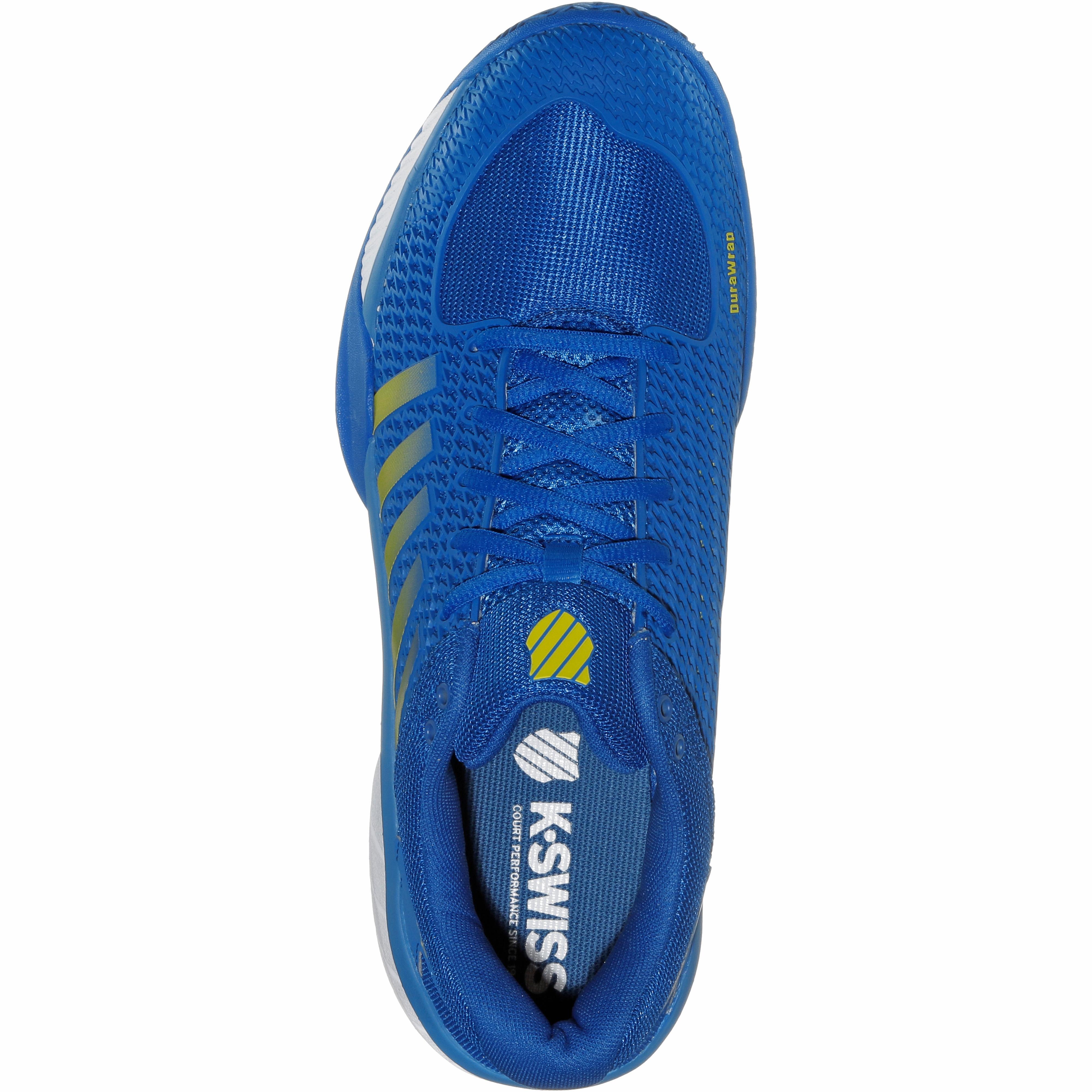 K-Swiss Express Express Express Light Tennisschuhe Herren strong blue-white-neon citron im Online Shop von SportScheck kaufen Gute Qualität beliebte Schuhe 79b1f8