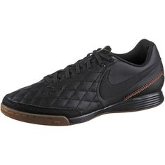 Nike TIEMPOX LIGERA IV 10R IC Fußballschuhe Herren black