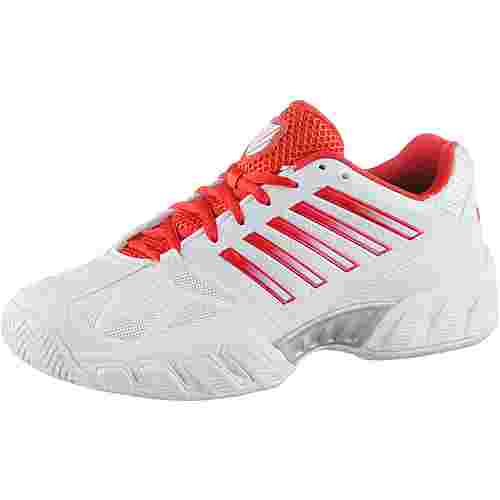 K-Swiss Bigshot Light 3 Tennisschuhe Damen white-fiesta-silver