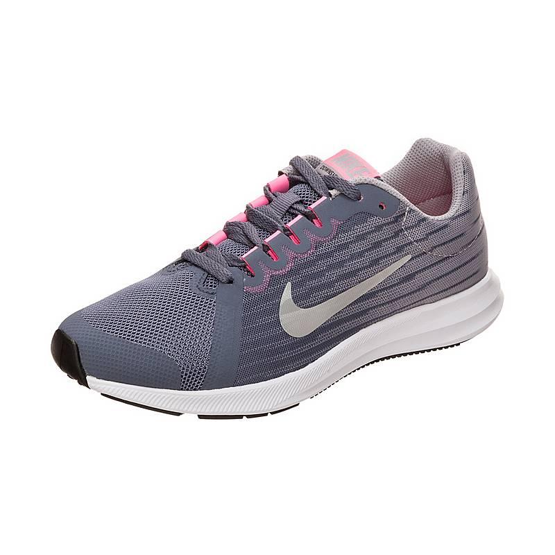 NikeDownshifter 8  LaufschuheKinder  carbonsilveratmospheregrey