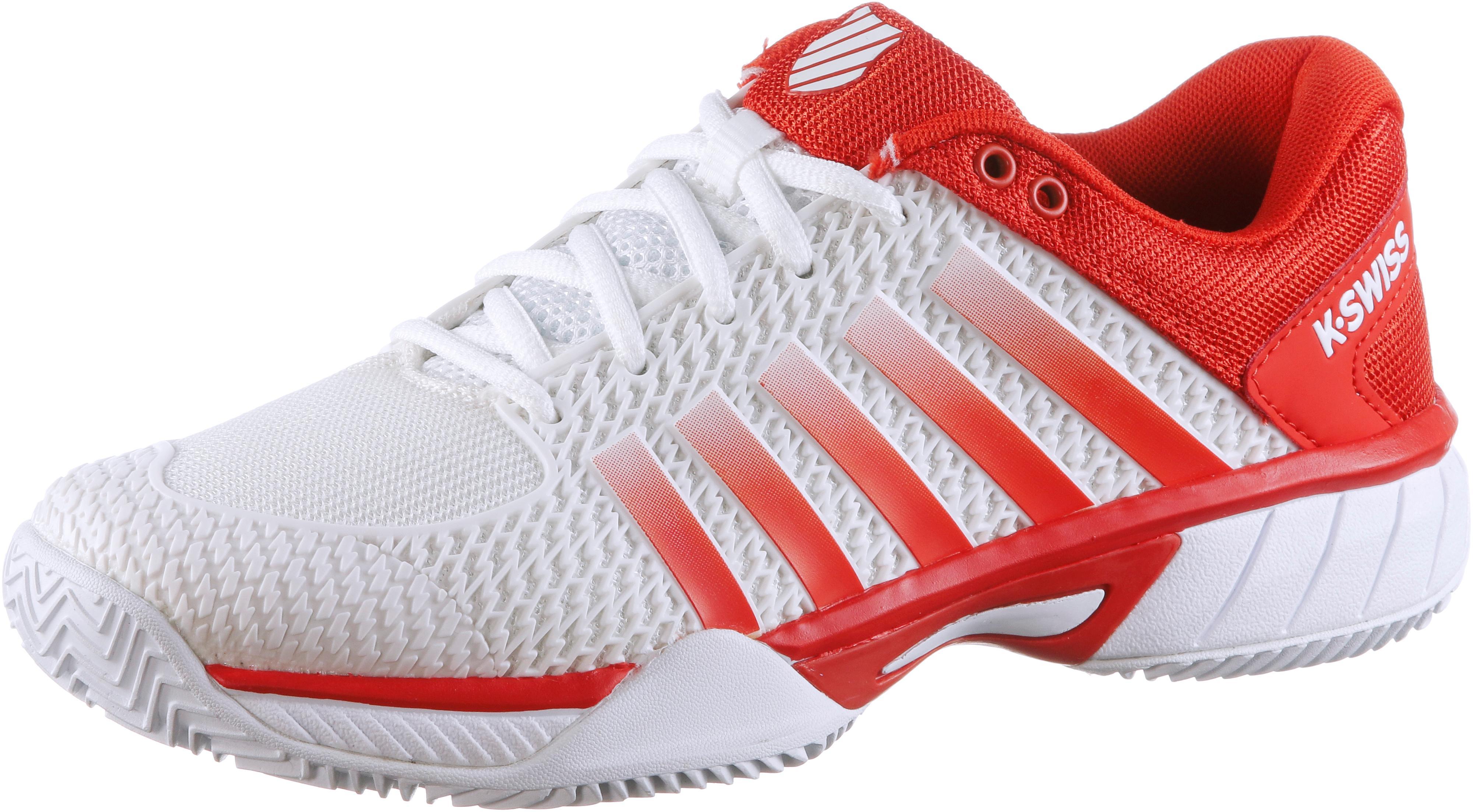 K-Swiss Express light Tennisschuhe Damen Weiß-fiesta im Online Shop von von von SportScheck kaufen Gute Qualität beliebte Schuhe 30e30e