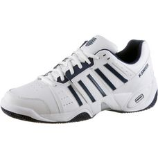 K-Swiss Accomplish III Leather Tennisschuhe Herren white-navy