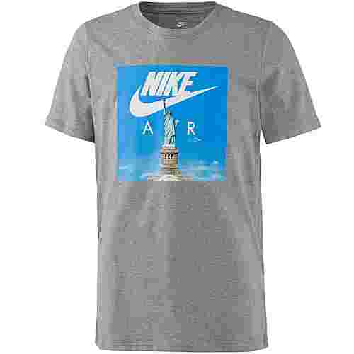 Nike NSW T-Shirt Kinder carbon-heather