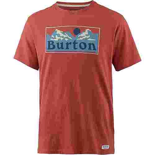 Burton RALLEYE T-Shirt Herren TANDORI