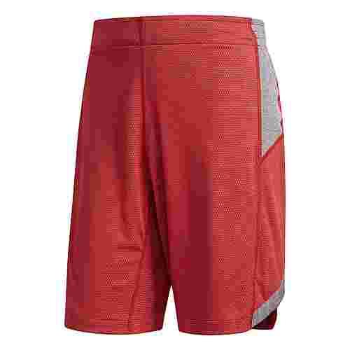 adidas Ball 365 Reversible Basketball-Shorts Herren Scarlet