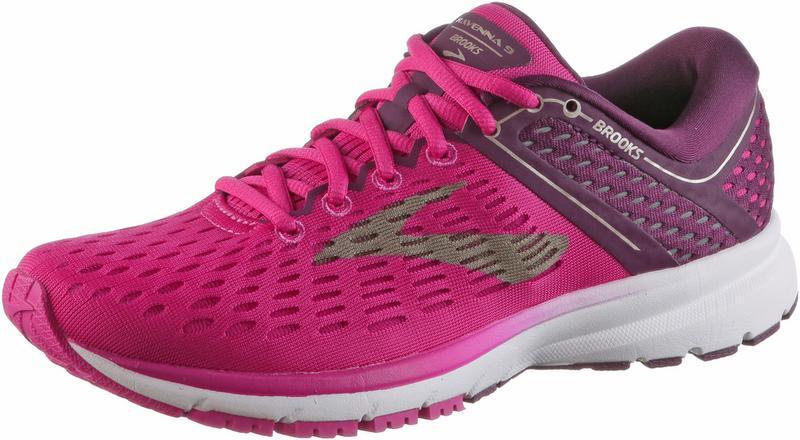 Brooks Ravenna 9 Laufschuhe Damen, pinkplumchampagne,Größen: 38, 38 1/2, 39, 40 1/2, 43