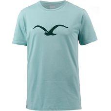 Cleptomanicx Mowe Tonal T-Shirt Herren Heather Aquifer