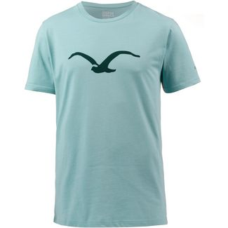 Cleptomanicx Mowe Tonal T-Shirt Herren Heather Aquifer