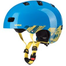 Uvex kid 3 Fahrradhelm Kinder blackout blue