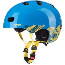 Uvex kid 3 Fahrradhelm Kinder blackout blue