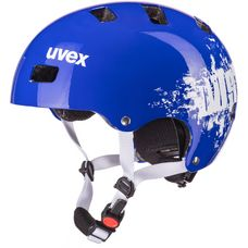 Uvex kid 3 Fahrradhelm Kinder royal blue dust