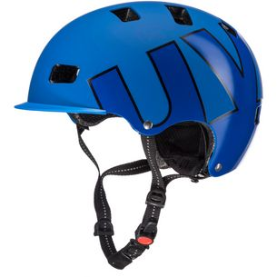 Uvex hlmt 5 bike pro Fahrradhelm blue mat