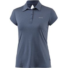 Columbia Peak to Point Poloshirt Damen bluebell