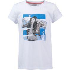 Bench T-Shirt Kinder bright white