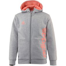 adidas Sweatjacke Kinder medium-grey-heather