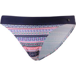 S.OLIVER Barcelona Bikini Hose Damen blau-rosé gemustert