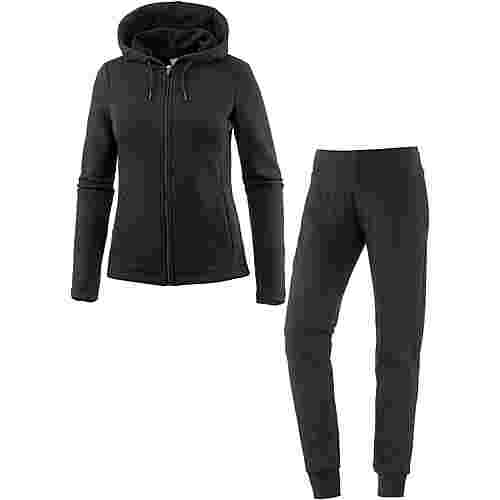 PUMA Classic Trainingsanzug Damen cotton black-cotton black