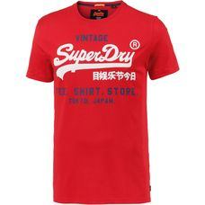Superdry T-Shirt Herren yacht club red