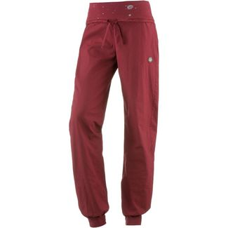 E9 Hit Kletterhose Damen wine