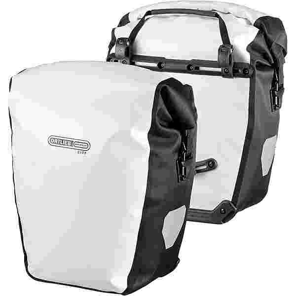 ORTLIEB BACK-ROLLER CITY Fahrradtasche white-black